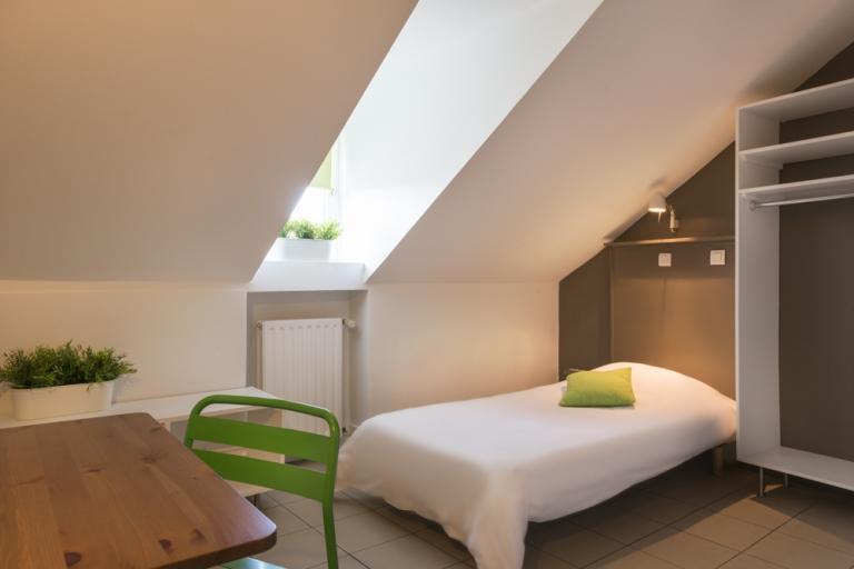 Studio simple, résidence chlorophylle, arcueil 94